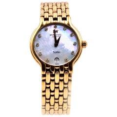 Raymond Weil 18 Karat Yellow Gold-Plated Fidelio Watch Ref. 4702