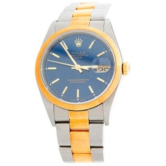 Rolex Date Men's 2-Tone Steel and Gold Watch 15203