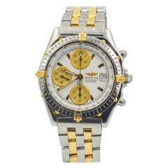 Breitling Chronomat Stainless Steel and 18 Karat Yellow Gold Watch