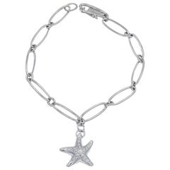 Platinum Tiffany & Co. Elsa Peretti Starfish Bracelet