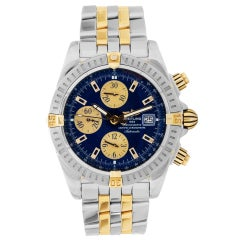 Certified Authentic, Breitling Chronomat 7812, Blue Dial