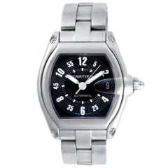 Certified Authentic Cartier Roadster 4740, Black Dial