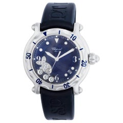 Certified Authentic Chopard Happy Sport 6540, Silver Dial