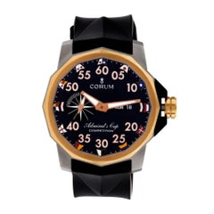 Certified Authentic  Corum Admiral's Cup 8316, Blue Dial
