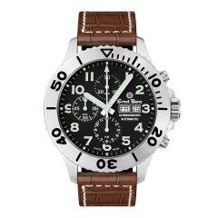 Certified Authentic Ernst Benz ChronoDIver 3846, White Dial