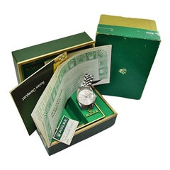Rolex Steel Quickset Datejust with Original Box and Papers from 1978 or 1979
