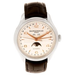Certified Authentic Baume & Mercier Clifton 2670, Silver Dial