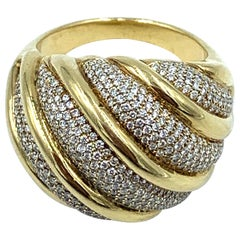 Paloma Picasso for Tiffany & Co. 18 Karat Gold and Diamond Ring