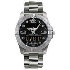 Breitling Aerospace Evo Titanium Bracelet Men's Watch E7936310/BC27