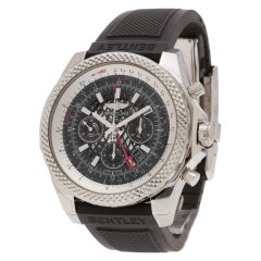Certified Authentic, Breitling Bentley 10020, Silver Dial