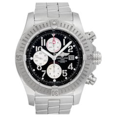 Certified Authentic, Breitling Avenger 4740, Black Dial