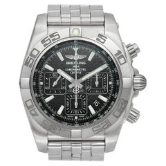 Certified Authentic Breitling Chronomat 7140, Black Dial