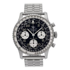 Certified Authentic Breitling Cosmonaute 7440, White Dial