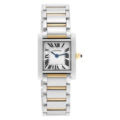 Certified Authentic, Cartier Tank Francaise 5100, White Dial