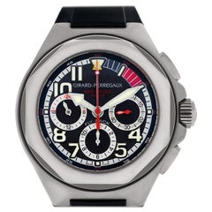 Certified Authentic Girard Perragaux Laureato 6240, White Dial
