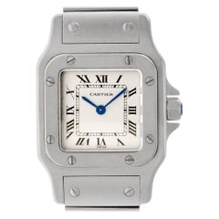 Certified Authentic Cartier Santos Galbee 4140, Missing Dial