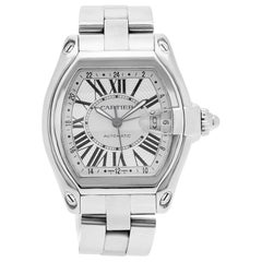 Certified Authentic Cartier Roadster 6420, Black Dial