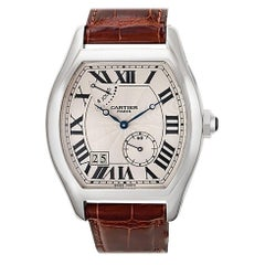 Certified Authentic Cartier Tortue 23400, Black Dial
