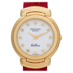 Certified Authentic Rolex Cellini 8988, Silver Dial