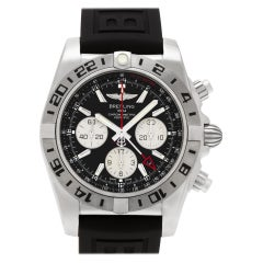 Certified Authentic, Breitling Chronomat 7584, 38 Black Dial
