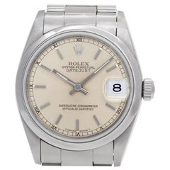 Certified Authentic, Rolex Datejust 5280, Black Dial