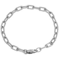 Cartier 18 Karat White Gold Spartacus Bracelet