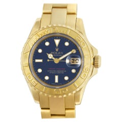 Certified Authentic Rolex Yacht-Master 15480, Yellow Dial