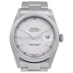 Certified Authentic Rolex Datejust 6900, Blue Dial