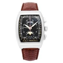 Certified Authentic Dubey & Schaldenbrand Gran Chrono Astro 5520, 38 Black Dial