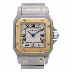 Certified Authentic, Cartier Santos Galbee 3540, White Dial