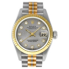 Certified Authentic Rolex Datejust 14280, White Dial