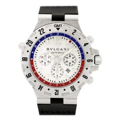 Certified Authentic, Bvlgari Diagono 4680, Black Dial