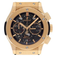 Certified Authentic Hublot Classic Fusion 38280, Blue Dial