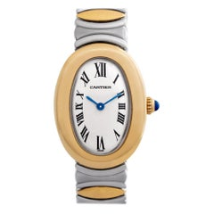 Certified Authentic Cartier Baignoire 5400, Missing Dial