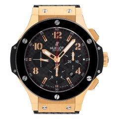 Certified Authentic Hublot Big Bang 22200, Gold Dial