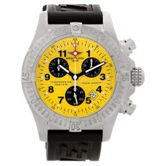 Certified Authentic Breitling Avenger 3540, Silver Dial