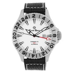 Certified Authentic Ernst Benz Chronoflite GMT 2988, White Dial