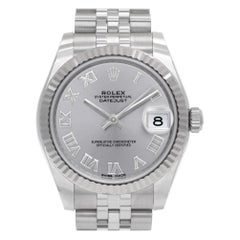 Certified Authentic Rolex Datejust 10740, White Dial