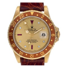 Certified Authentic Rolex GMT Master 16800, Beige Dial