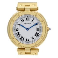 Certified Authentic Cartier Panthere de Cartier 8160, Gold Dial