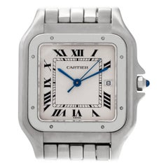 Certified Authentic Cartier Panthere de Cartier 4740, White Dial
