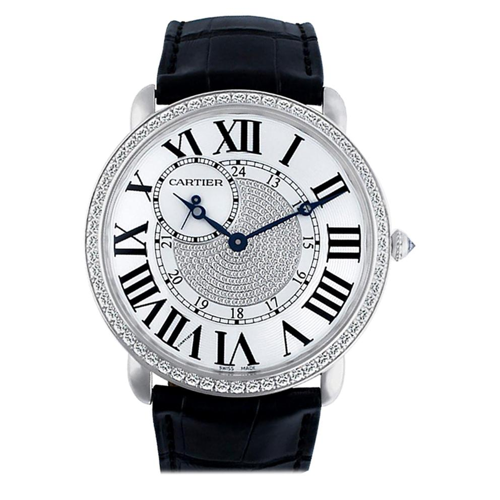 Certified Authentic, Cartier Ronde Louis Cartier 46800, White Dial