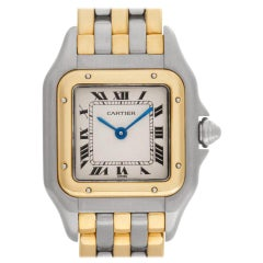 Certified Authentic Cartier Panthere de Cartier 3180, Gold Dial