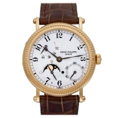 Certified Authentic Patek Philippe Power Reserve 28800, Gold Dial