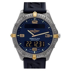 Certified Authentic Breitling Aerospace 2700, Blue Dial