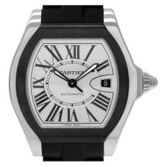 Certified Authentic Cartier Roadster 3990, Black Dial