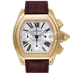 Certified Authentic Cartier Roadster 16800, Silver Dial