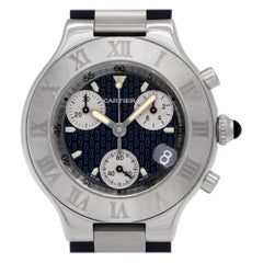 Certified Authentic Cartier Must 213588, Silver Dial