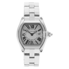 Certified Authentic Cartier Roadster 4020, Silver Dial