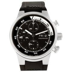 Certified Authentic, IWC Aquatimer 7800, Black Dial